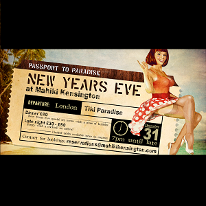 Mahiki Kensington New Years Eve