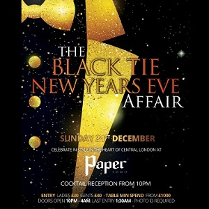 Paper New Years Eve