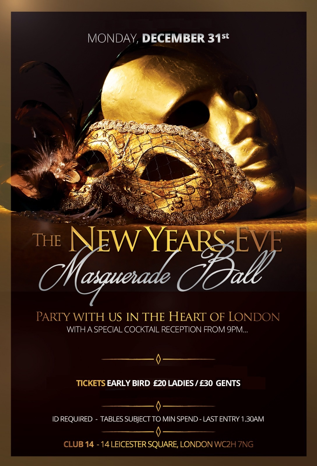 Club 14 New Years Eve Tickets 2018 2019 The Hottest