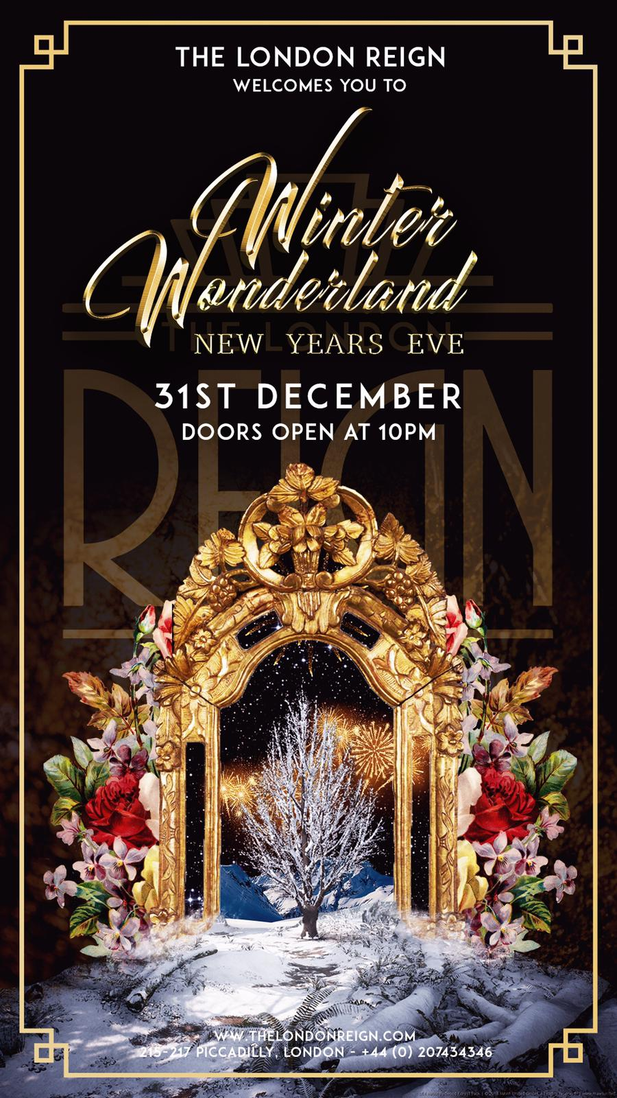 Reign New Years Eve Tickets