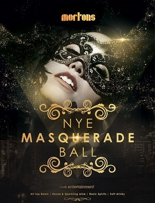 Morton's new years eve tickets