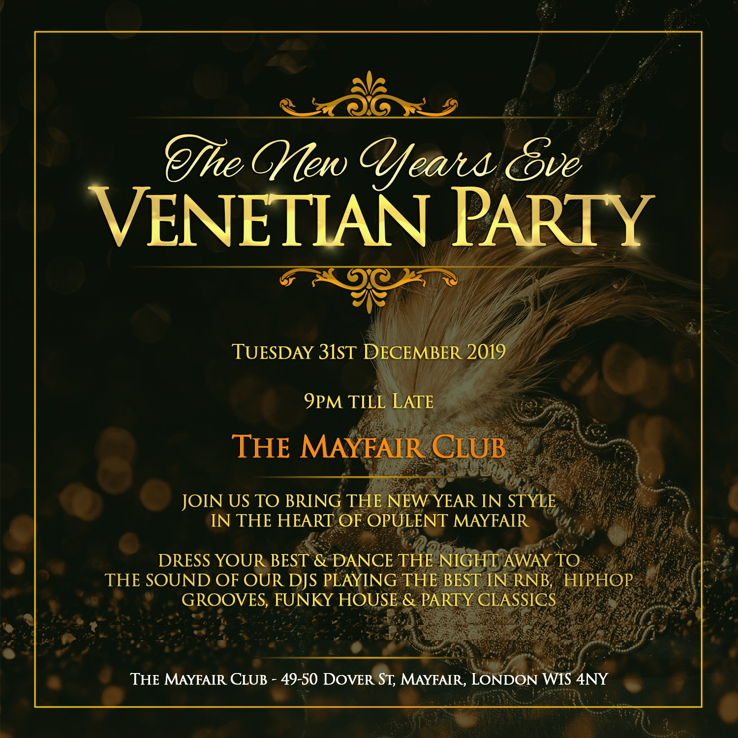 Mayfair Club New Years Eve