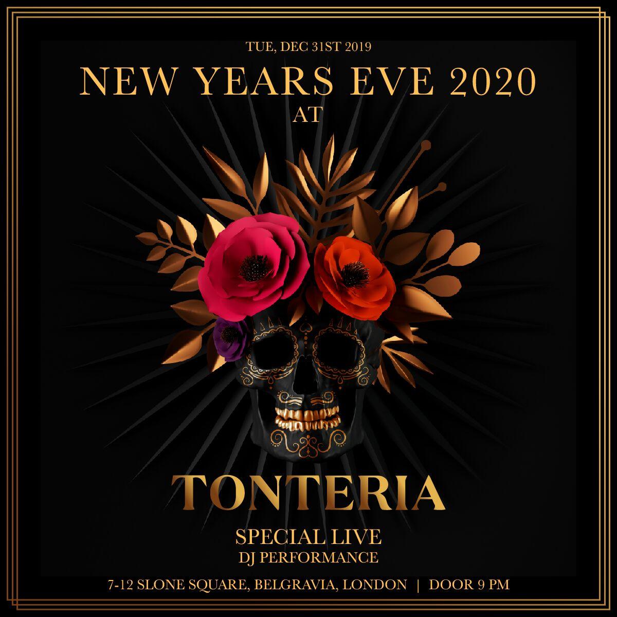 Tonteria New Years Eve